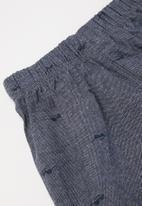 POP CANDY - Bodysuit, tee & shorts set - orange & navy