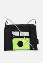 Sealand - Roachie l crossbody - black & green