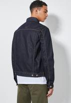 Superbalist - San Fran denim trucker jacket - blue