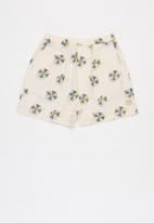 Sticky Fudge - Boys umbrella shorts - multi