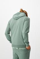 Cotton On - Essential fleece pullover - mineral blue