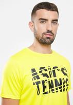 ASICS - Practice short sleeve top - yellow