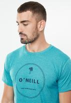 O'Neill - Bridge the gap tee - teal melange