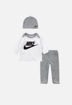 Nike - Nkn footed pant 3pc set - grey
