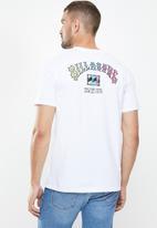 Billabong  - Arch short sleeve tee - white