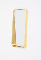 Sixth Floor - Arnett framed mirror - gold