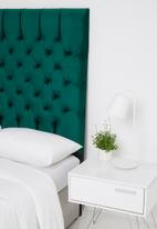 Sixth Floor - Monarch headboard - green