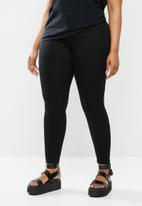 Missguided - Plus Anarchy mid rise skinny jeans - black
