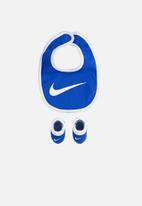 Nike - Nike core swoosh bib bootie 2pc - blue