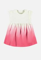 name it - Julia dress with bloomer - red