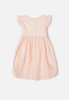name it - Jamille short sleeve dress - pink