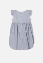 name it - Jamille short sleeve dress - navy