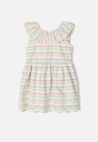 name it - Hurra spencer dress - multi