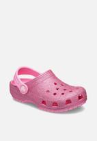 Crocs - Classic glitter clog - pink lemonade
