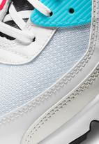 Nike - Air Max 90 - white / iron grey-chlorine blue