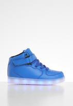 POP CANDY - Hi-top light up sneaker - blue