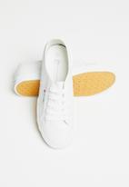 Pierre Cardin - Pu sneaker - white