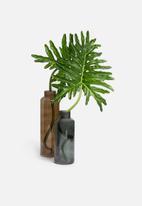 Hertex Fabrics - Tower vase small - eucalyptus