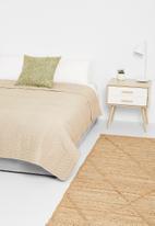 Hertex Fabrics - Oslo quilt - doeskin