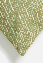 Hertex Fabrics - Gator woven outdoor cushion cover - sea spray
