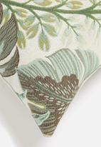 Hertex Fabrics - Tropicana woven outdoor cushion cover - sea spray