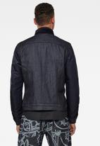 G-Star RAW - Arc 3d slim padded jacket - raw denim