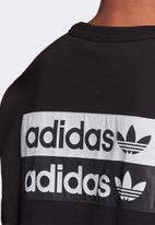 adidas Originals - R.Y.V. crew sweatshirt - black