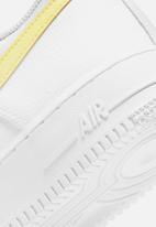 Nike - Nike air force 1 '07 - white/lt zitron - bright mango-white