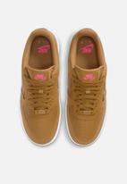 Nike - Nike air force 1 '07 essential - wheat/wheat-sunset pulse-black