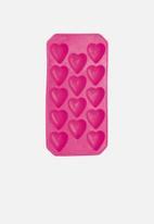 Barcraft - Flexible tropical shape ice cube tray-Flamingo Pink