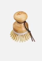 Living Nostalgia - Bamboo cleaning brushes-Natural palm