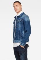 G-Star RAW - 3301 slim fit jacket - stone