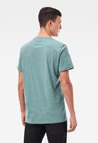 G-Star RAW - Base-s r t short sleeve - teal grey