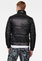 G-Star RAW - Messfic quilted jacket - black