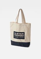 G-Star RAW - Canvas shopper - ecru
