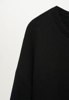 MANGO - Sweatshirt silva - black