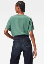 G-Star RAW - Lash fem loose short sleeve - cosmo green