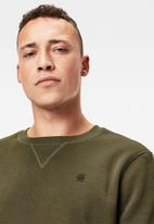 G-Star RAW - Premium core r long sleeve sweat - olive