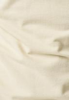 G-Star RAW - Dunda slim stripe short sleeve polo - milk