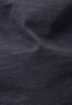 G-Star RAW - Motac logo r long sleeve tee - navy