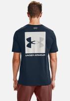 Under Armour - Ua box logo tee - navy