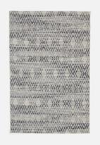 Hertex Fabrics - Drift rug - coal (160x230)