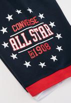 Converse - Colorblock all star shorts - obsidian