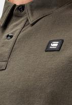 G-Star RAW - Badge logo+ polo r s\s