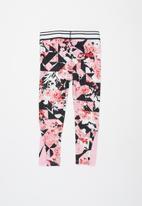 Nike - Nkg Tokyo floral aop legging - pink
