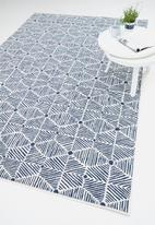 Hertex Fabrics - Seashells rug -  atlantic (200x290)