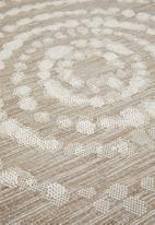 Hertex Fabrics - Spiro round rug - cappuccino