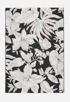 Hertex Fabrics - Botany woven outdoor rug - spade