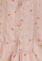 name it - Helen floral romper - potpourri
