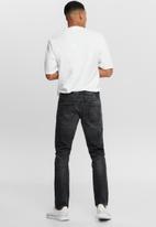 Only & Sons - Loom life slim can black jean - black